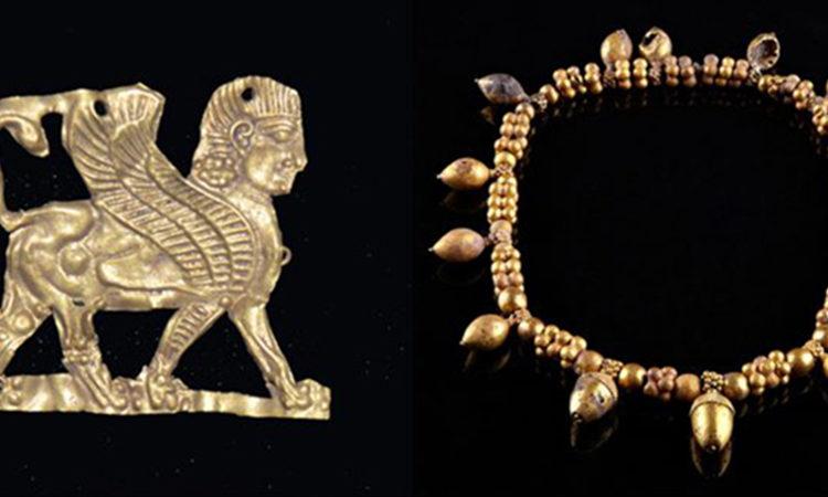 Kral Midas'ın Altın Çağı sergisi