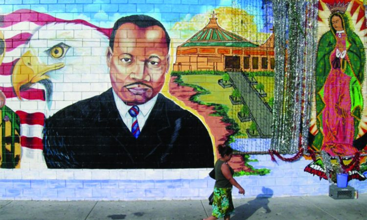 Martin Luther King - Mural