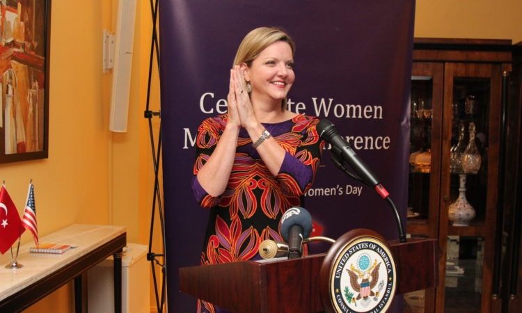 "Consul General Jennifer Davis hosted ""Gender Equality in Business Reception"""
