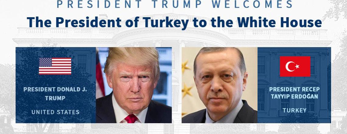 Başkan Trump'ın Türkiye Cumhurbaşkanı Erdoğan ile Görüşmesine İlişkin Bilgi Notu