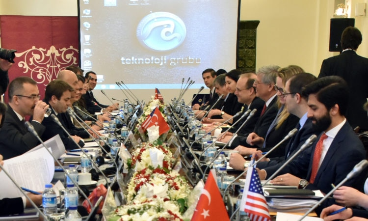 Assistant Secretary of the Treasury for Terrorist Financing Marshall Billingslea visited Ankara, Turkey on March 20-22. Assistant Secretary Billingslea led the U.S. delegation to the U.S.-Turkey Bilateral Exchange on anti-money laundering and countering the financing of terrorism (AML/CFT).