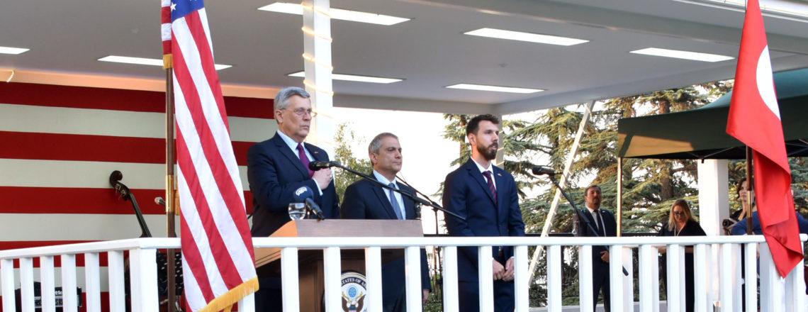 Maslahatgüzar Philip Kosnettt'in 2018 Bağımsızlık Günü Resepsiyonunda Yaptığı Konuşma